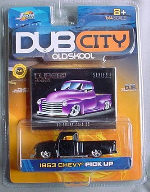 estilo clásico Dub City Old Old Old Skool 1953 Chevy Pick Up Series 1 negro by Jada  Envío y cambio gratis.