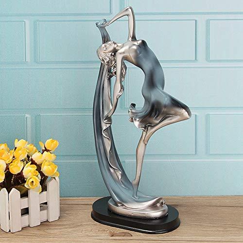 TGACD Sculptuur standbeeld Unieke Sierlijke Ballet Meisje Dansen Danser Beeldje Ballerina Beelden Sculptuur Ornament Home Decor Craft Art