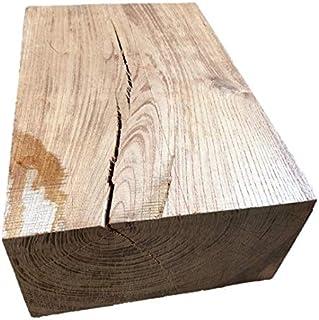 【送料無料!】ケヤキ 欅 けやき ブロック 角材 カット材 DIY ディスプレイ 340×215×115㎜ 【ワールドデコズ】