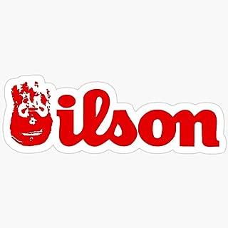 BeliNZStore Wilson Stickers (3 Pcs/Pack)