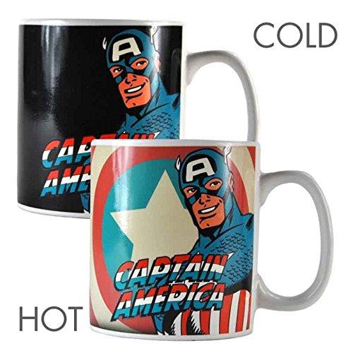 Marvel Comics - Taza térmica capitán américa - Merchandising cómic