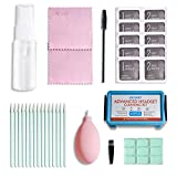 41PCS Cleaning Kit with Storage case for Camera/iPhone/AirPods/Keyboards/Laptops,Cleaning Phone Jack Charger Port Hole Plug Speaker and Screen