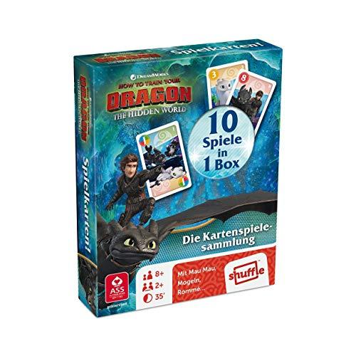 ASS Altenburger 22577509 - Dragons Spielkarten! - Die Kartenspielesammlung mit 10 Spielen in 1 Box