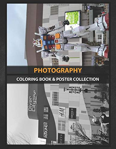 Coloring Book & Poster Collection: Photography Real Life Size Of Gundam At Divercity Tokyo Japan Anime & Manga