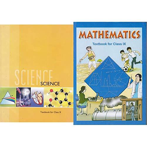 Science Textbook for Class 10- 1064 + Mathematics Textbook for Class IX (Set of 2 Books)