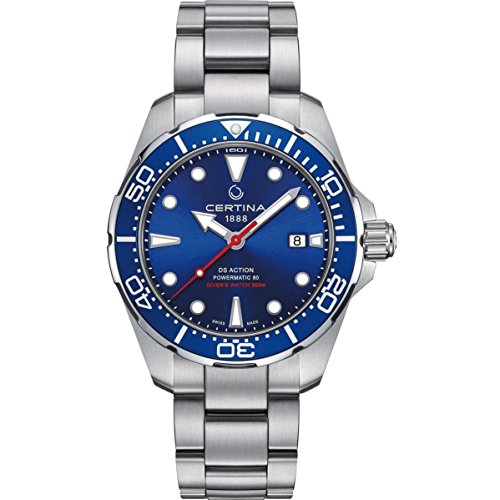 Certina DS Action Diver Herren-Armbanduhr 43mm Automatik C032.407.11.041.00