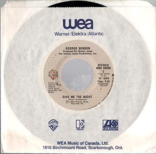 BENSON, George/Give Me The Night/45rpm record