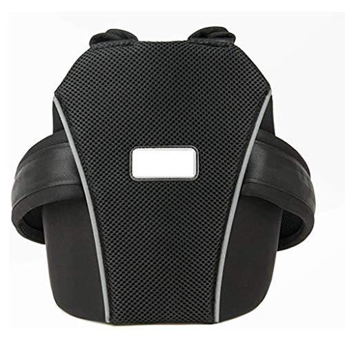 Cintura di Sicurezza Bambini di Sicurezza per Moto/Auto Elettrica/Bicicletta Regolabile Imbracatura con Cintura di Sicurezza per Bambini Regolabile,Nero