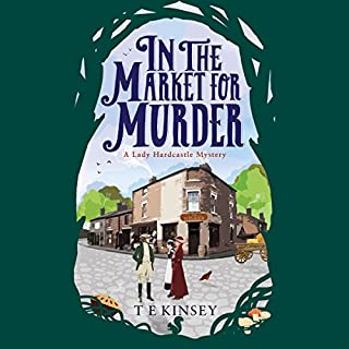 In the Market for Murder audiobook cover art