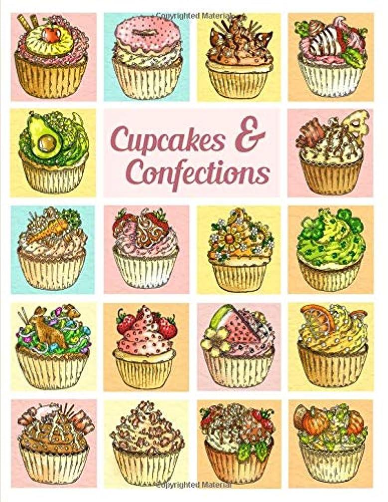 金曜日狼形式Cupcakes & Confections: A Coloring Book