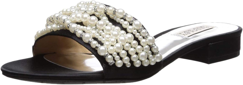 Badgley Mischka Womens Florentina Slide Sandal