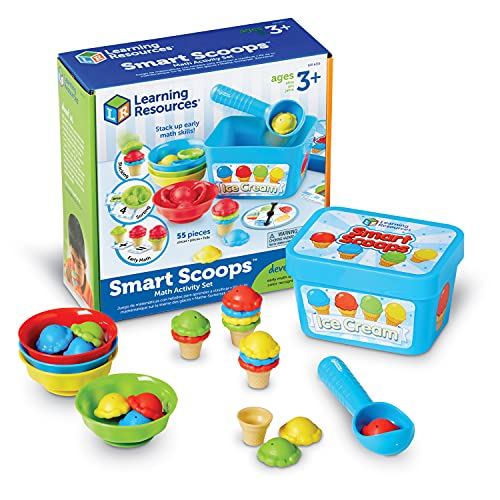 Learning Resources Smart Scoops Math Activity Set Now $11.20 (Was $24.99)