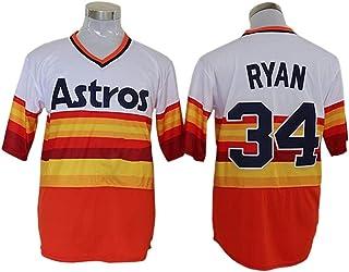 2#27#ḁḷṫṳṽḕḁṡṫṙṍṡḁṡṫṙṍṡḁṡṫṙṍṡḁṡṫṙṍṡḁṡṫṙṍṡレトロな野球のファンTシャツトップスシャツ野球スポーツウェア通気性急速なスウェット虹4# - m-m_レインボー34#