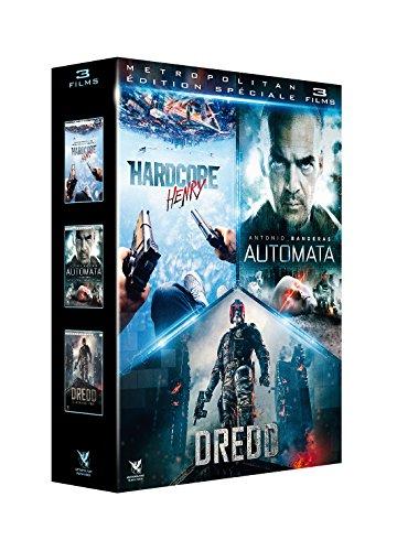 Coffret Action SF 3 Films : Hardcore Henry Automata Dredd