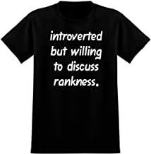 Introverted But Willing to Discuss rankness - Soft Men's T-Shirt