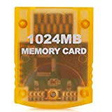 RGEEK 1024MB(16344 Blocks) High Speed Game Memory Card Compatible for Nintendo Gamecube and Wii Console