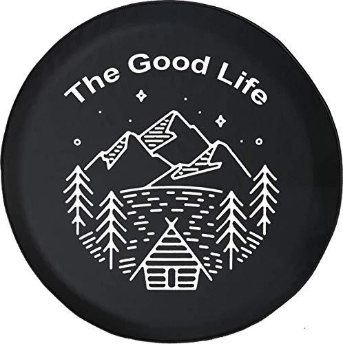BI HomeDecor Spare Wheel Tire Cover,The Good Life Cordillera