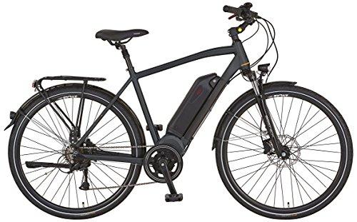 "Prophete E-Bike, 28\"", Entdecker e8.7, AEG EcoDrive Mittelmotor, 36V,250 W,max.50 Nm, SHIMANO 8-Gang Kettenschaltung, AEG Downtube-Akku Lithium-Ionen, 36V, 10,4Ah (374 Wh), PROMAX hydr. Scheibenbremsen"