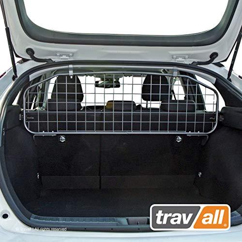Travall Guard Grilles Pare-Chien Compatible avec Toyota Prius (2015 et Ulterieur) TDG1560 - Grille de Separation avec Revêtement en Poudre de Nylon