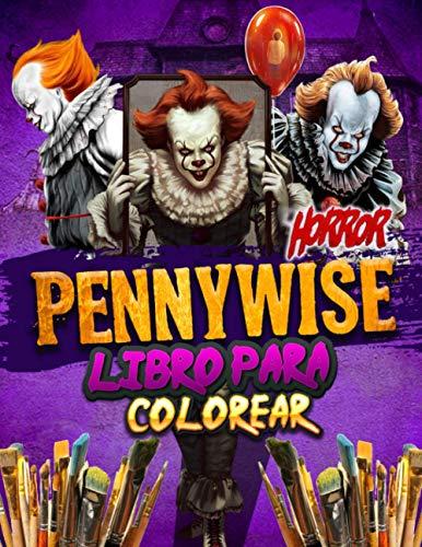 Pennywise Libro Para Colorear: Pennywise 2021 Personajes: Asustar A Las Imágenes Extraoficiales Asombrosas