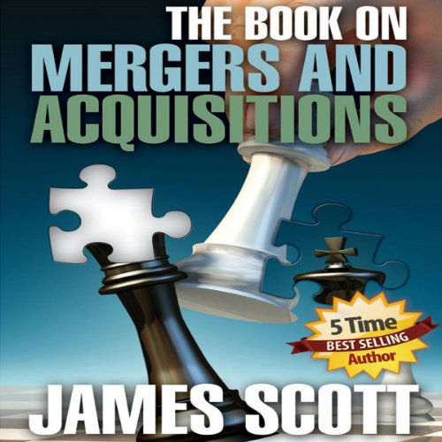 The Book on Mergers and Acquisitions audiobook cover art