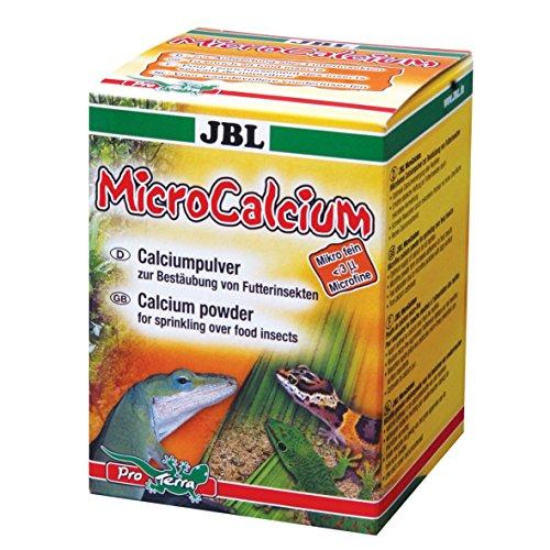 JBL MicroCalcium 71033 Aanvullende voering voor alle reptiele calcium poeder, 100 ml