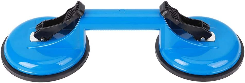 2 Claw Suction Cup 4 years warranty 4.6in Glass Blue Vacuum H Lifter Austin Mall Sucker