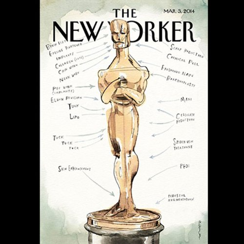 The New Yorker, March 3rd 2014 (Raffi Khatchadourian, Elizabeth Kolbert, Anthony Lane)                   By:                                                                                                                                 Raffi Khatchadourian,                                                                                        Elizabeth Kolbert,                                                                                        Anthony Lane                               Narrated by:                                                                                                                                 Todd Mundt                      Length: 2 hrs and 25 mins     3 ratings     Overall 4.3
