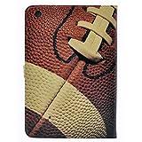 CYD Case for iPad Mini 5 2019 ,Football American Sports Pattern Leather Flip Stand Case Cover for iPad Mini 5th Gen ,iPad Mini 4 7.9-inch