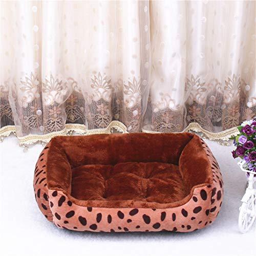 AMURAO Cama para Perros de Invierno Tallas Grandes Colchones Engrosamiento Cálido Casa para Mascotas Nido Perros Grandes Perros pequeños Bull Terrier Pug Mat