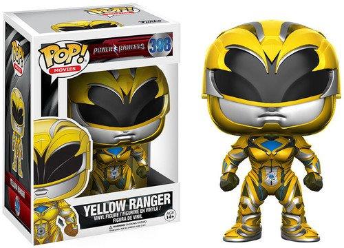 Funko 12344 POP Vinylfigur: Power Rangers – Der Film: Gelber Ranger