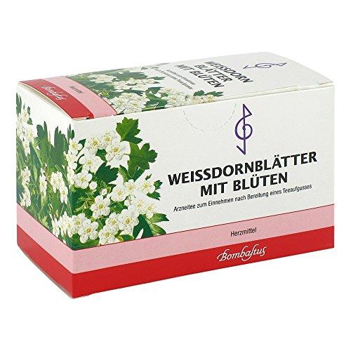 Weißdornblätter mit Blüten Tee, 20X1.5 g