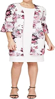 Maya Brooke Women's Plus Size Jacket Dress