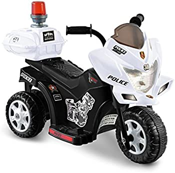 Kid Motorz Lil Patrol 6-Volt Battery Operated Ride On Motorcycle