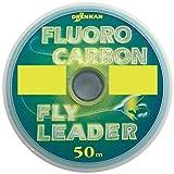 Drennan Fluorocarbon Leader Line/Tippet 4lb 50m