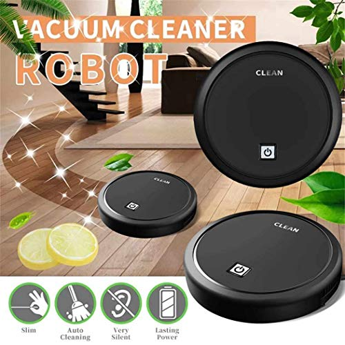 Great Price! Fantastick 2 in 1 Robot Cleaner Vacuum Smart Mute Sweep Machine for Home Bedroom Living...