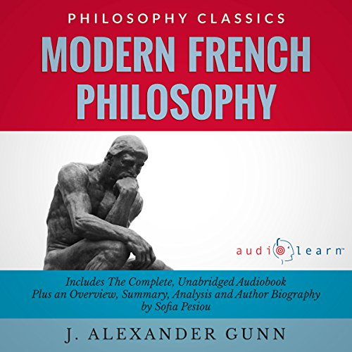 Modern French Philosophy audiobook cover art