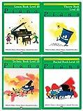 Alfred's Basic Piano Library: Level 1B Books Set (4 Books) - Lesson Book 1B, Theory Book 1B, Technic Book 1B, Recital Book 1B