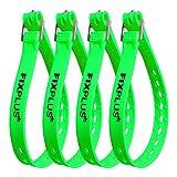 Fixplus Strap Juego de 4 correas de amarre para asegurar, fijar, unir y amarrar, de plástico...