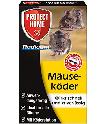 Rodicum Mäuseköder Mit Köderbox | Mäusegift | Ungeziefershop.de | 1 Köderbox mit Mäuseköder | Mäusegift bekämpfen mit Ungeziefershop.de