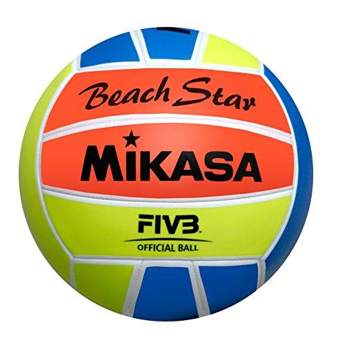 Mikasa Ball Beach Star, Neonfarben, 5, 1633