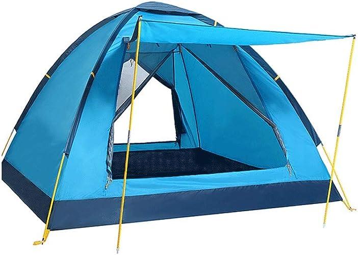 XXW Tente Randonnée en Plein air Tente de Camping 3 Personnes à l'épreuve du Vent et des Produits de Plein air antipluie Tente Extérieure