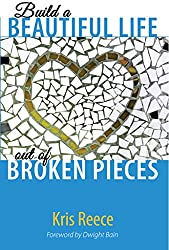 blue and white cover, build a beautiful life out of broken pieces cover