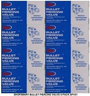 BPV21 8-Pack Supco HVAC Tap Bullet Piercing Valves