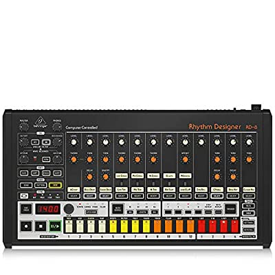 Behringer Classic Analog Drum Machine (RHYTHM DESIGNER RD-8) by Music Tribe