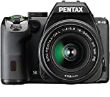 Pentax K-S2 Spiegelreflexkamera (20 Megapixel, 7,6 cm (3 Zoll) LCD-Display, Full-HD-Video, Wi-Fi, GPS, NFC, HDMI, USB 2.0) Kit inkl. 18-50mm WR-Objektiv schwarz