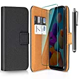 ivencase Funda para Samsung Galaxy A21 + Protector de Pantalla + Pen, Libro Caso Cubierta la Tapa magnética Protector...
