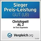 Christopeit Ergometer AL 2, silber/schwarz, 96x59x134 cm - 15