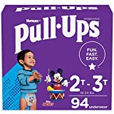 Pull-Ups Boys' Potty Training Pants Training Underwear Size 4, 2T-3T, 94 Ct