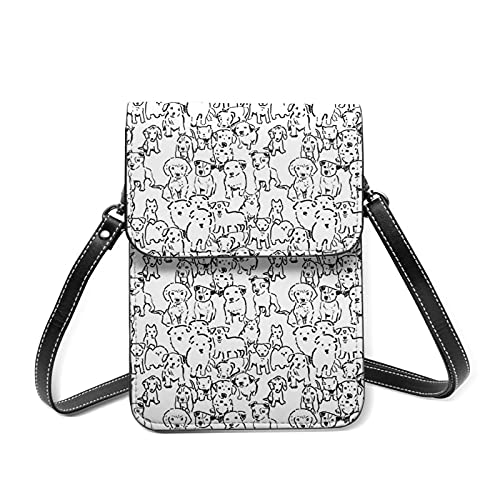 best& Puppies Crossbody Bag Phone Bags Purse,Sports pulsera Outdoor Sweat-Proof Small Compact Handbags Crossbody Pass Phone Holder Bag Shoulder Bag For Women Girls Lady